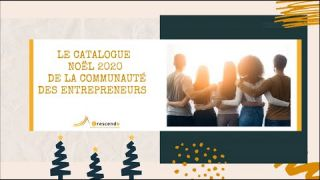 Catalogue Noël 2020 des entrepreneurs Crescendo